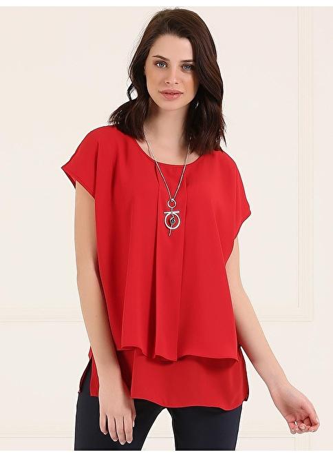 Faik Sönmez Bluz Kırmızı